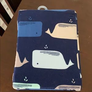 Baby boy fitted and flat sheet set